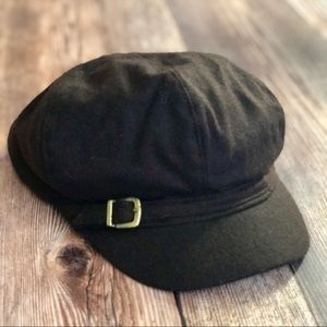 Nine West Newsboy Cap Brown